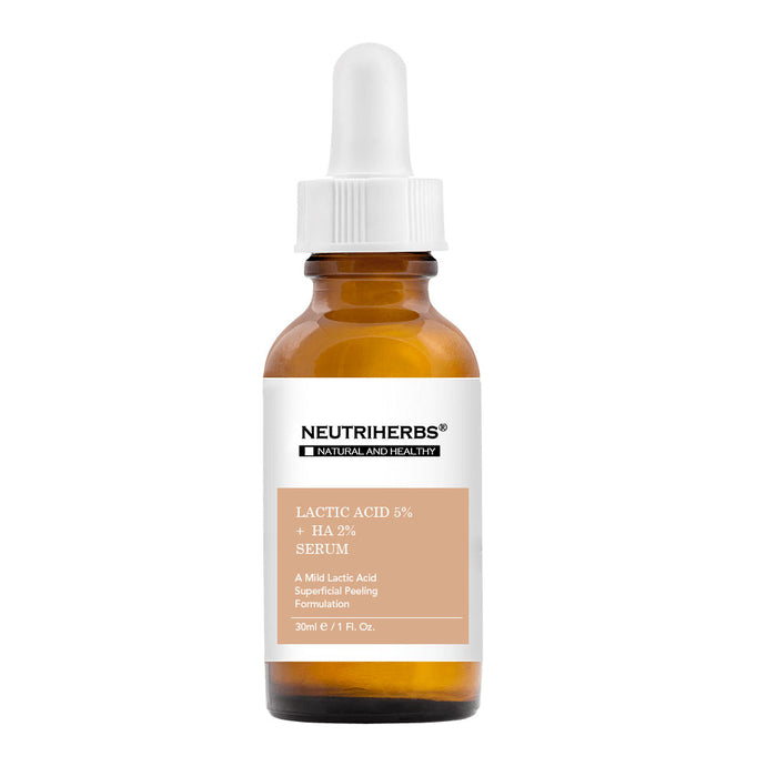 Lactic Acid 5% + Hyaluronic Acid 2% Serum - Private Label Suppliers - amarrie cosmetics