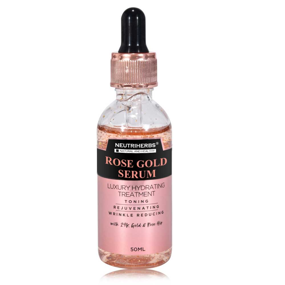 Rose Gold Luxury Face Serum - Private Label Manufacturer - amarrie cosmetics