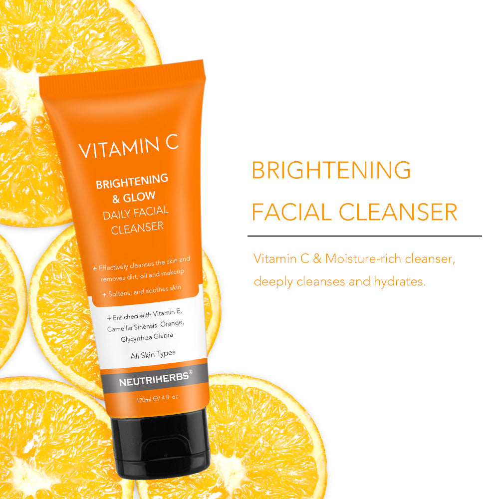 Vitamin C Hydrating Facial Cleanser