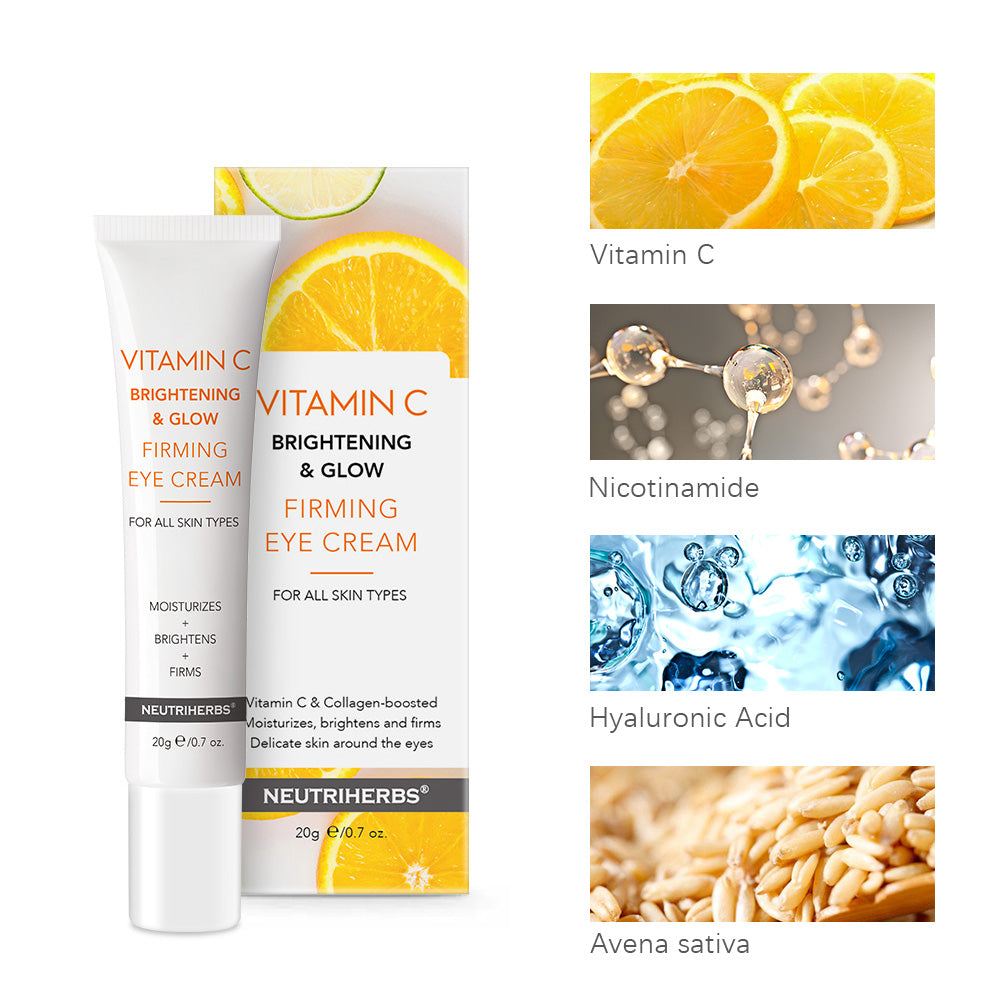 Vitamin C  Brightening & Glow Firming Eye Cream | deeply moisturizes delicate skin around the eyes while helping brighten and smooth to make the  eye area even more  radiant