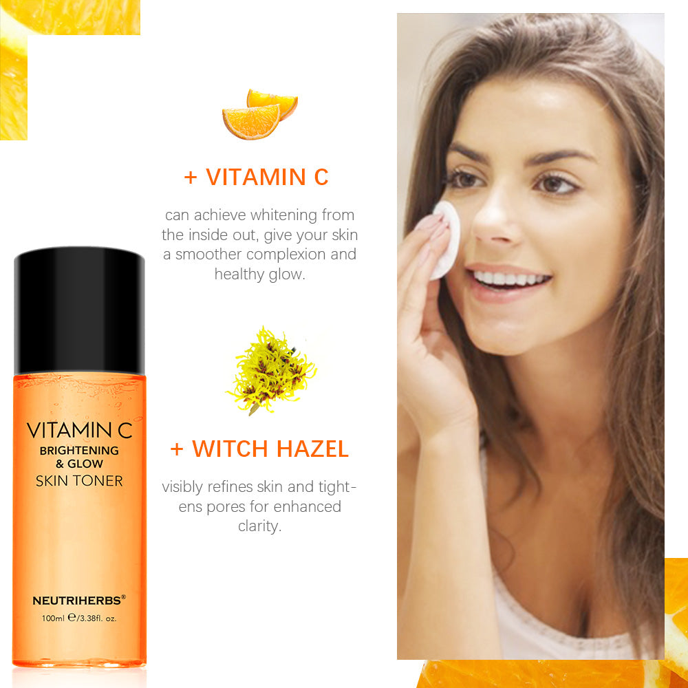 Neutriherbs Brightening and Glow Vitamin C Toner |  Toner can replenish a certain amount of moisture to prevent peeling