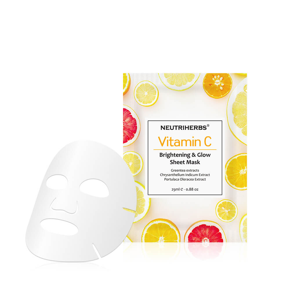 Skin Brightening & Glow Vitamin C Sheet Mask - amarrie cosmetics