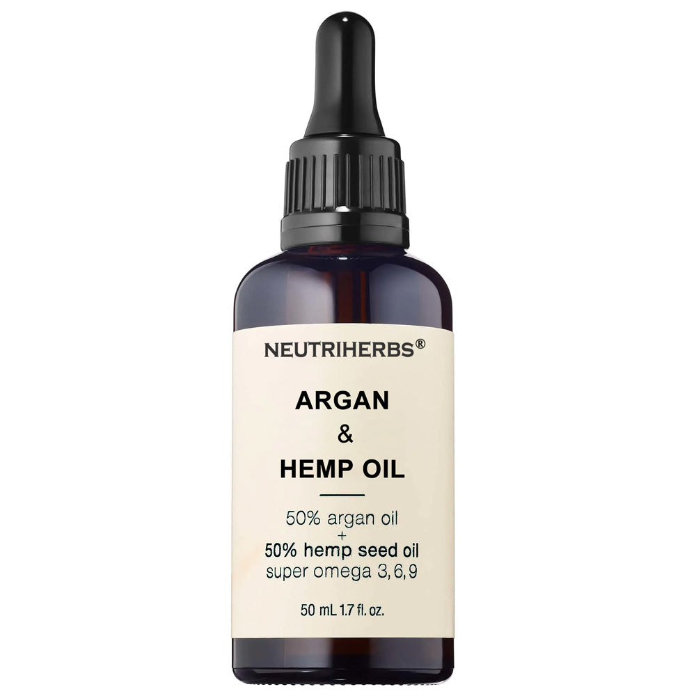 Argan Oil + Hemp Oil For Glowing Skin - amarrie cosmetics