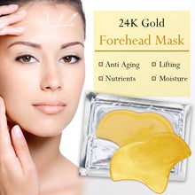 24K Gold Forehead  Mask For Reduce Fine Lines Wrinkles at 20-30 - amarrie cosmetics