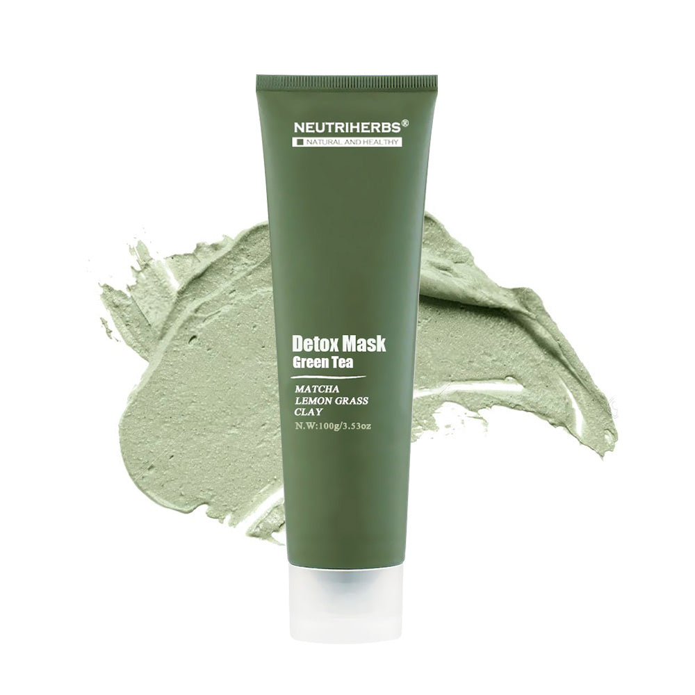 Soothing Anti Wrinkle Detox Face Mud Green Tea Mask
