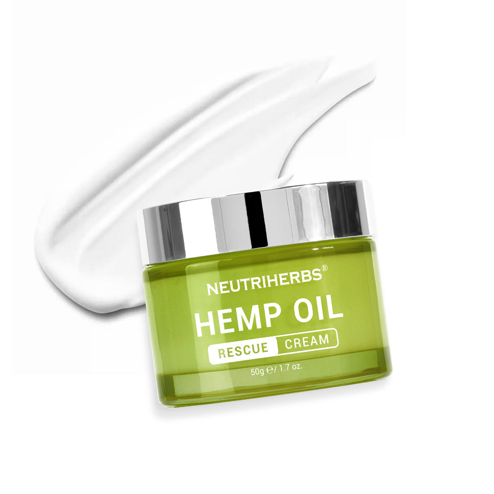 Neutriherbs Hemp Oil Rescue Cream for acne-prone skin