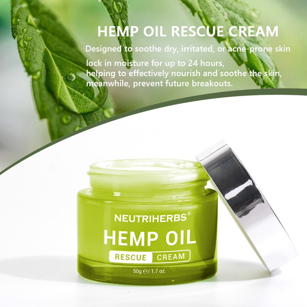 Neutriherbs Hemp Oil Rescue Cream provide proviate label servies