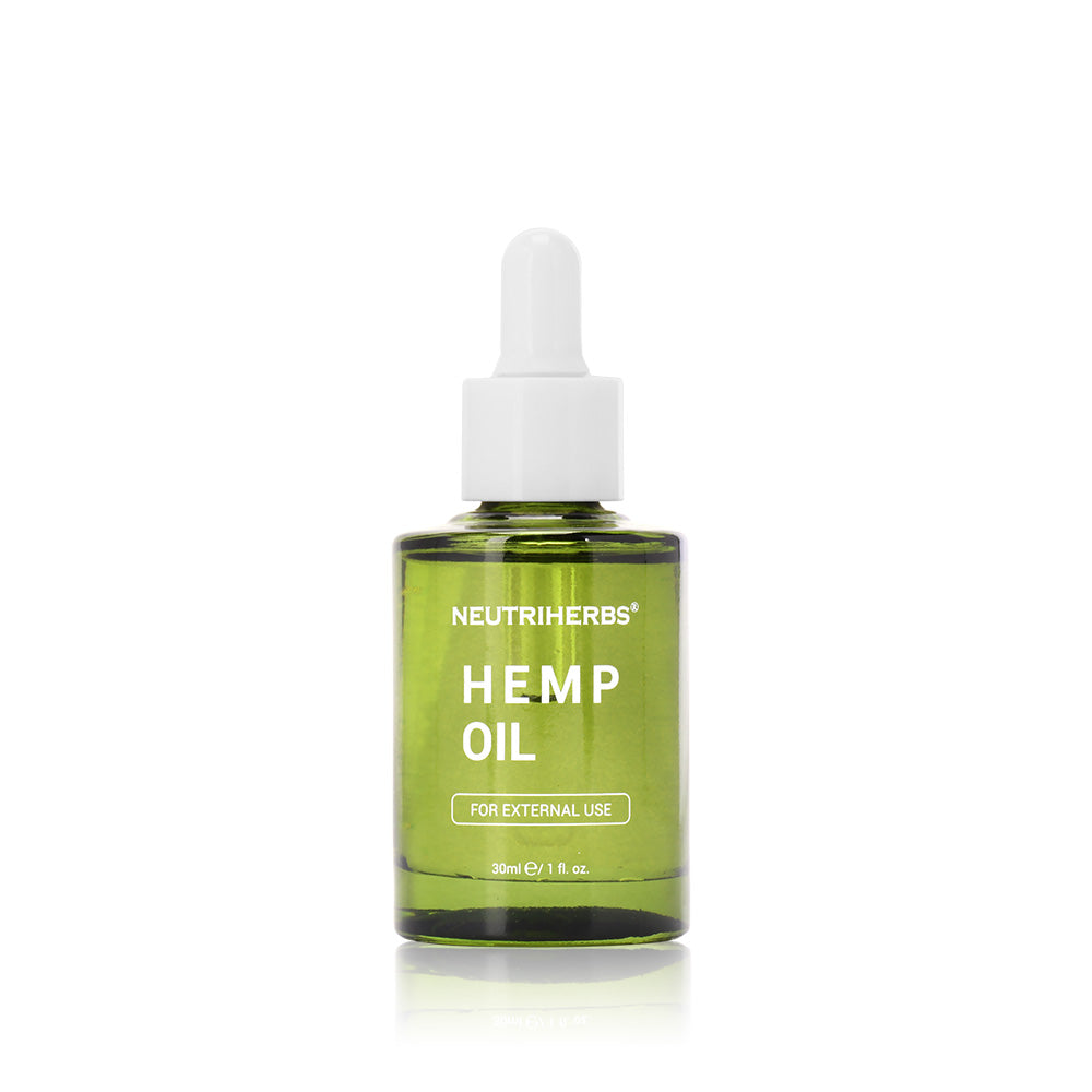 Neutriherb Hemp Oil can be used topically to alleviate inflammation and pain.