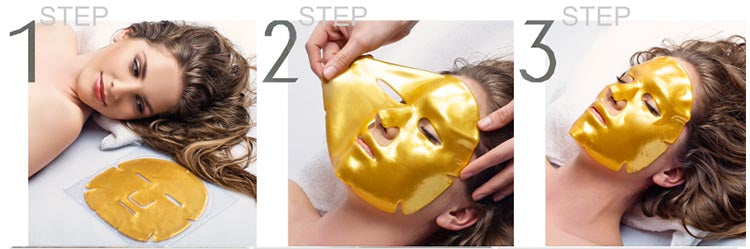 24K Gold Collagen Face Mask - amarrie cosmetics