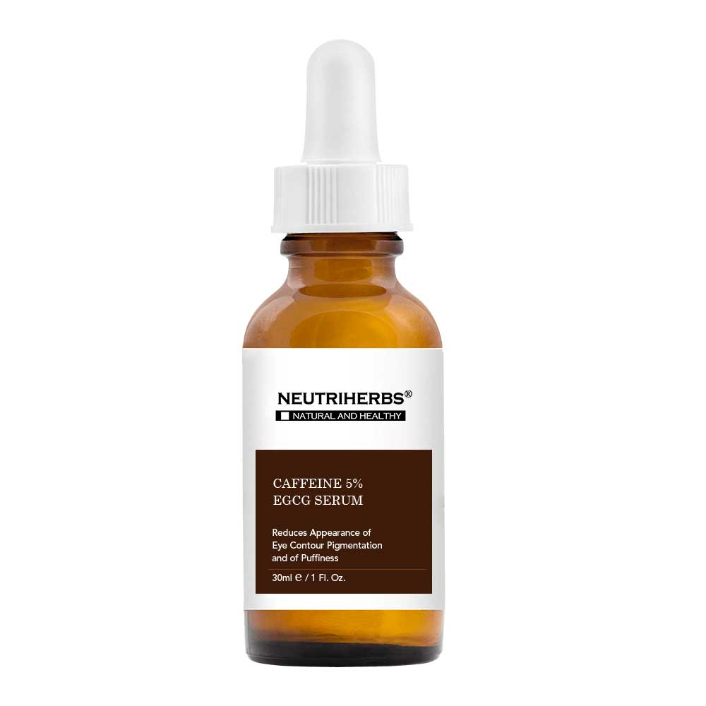 Caffeine Solution 5% + EGCG Eye Serum - Private Label Manufacturer - amarrie cosmetics