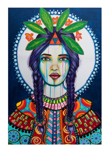 Elspeth Goddess - Hand Signed Art Print