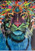 Tigress - Hand Signed Art Print