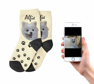 Kids  Personalized Dog Socks
