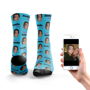 stable quality cheap prices latest design Crazy Auntie Socks