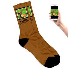 Load image into Gallery viewer, Dog Photo Socks