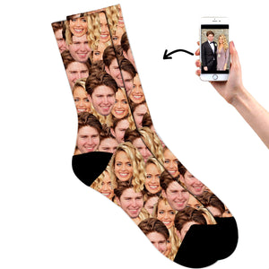 Couples Multi Face Socks