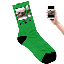 Load image into Gallery viewer, Cat Photo Socks