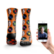 Load image into Gallery viewer, Vinyl Record Socks
