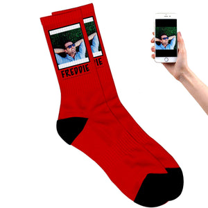 Photo on Socks
