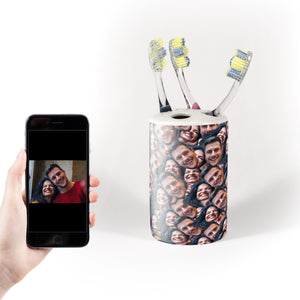 Multi Face ToothBrush Holder