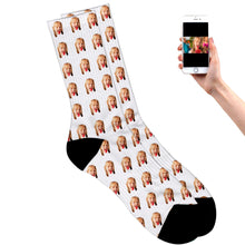 Load image into Gallery viewer, Face Socks