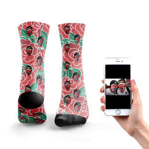 Customized England Rugby Socks