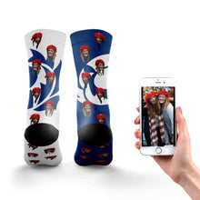 Load image into Gallery viewer, Personalized Scotland Rugby Socks