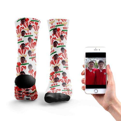 Customized Wales Rugby Socks