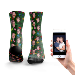 Love You 4Eva Couple Socks