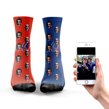 Load image into Gallery viewer, Personalized France Rugby Socks