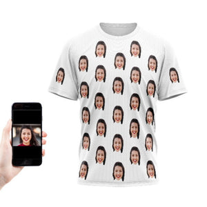Couples Multi Face T-Shirt