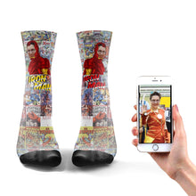 Load image into Gallery viewer, Iron Man Socks