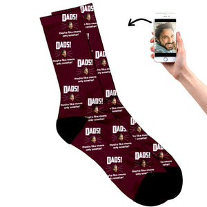 Dad's Like Mum Only Smarter Socks