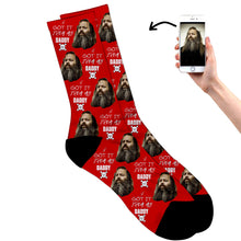 Load image into Gallery viewer, Fathers Day Skull Socks