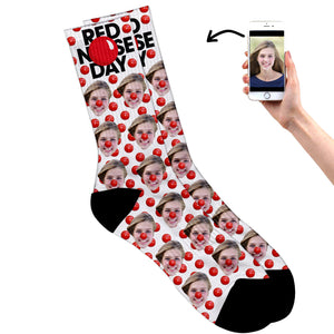 Comic Relief Socks (Red Nose Day Socks)
