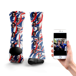 Customized France Rugby Socks