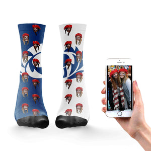 Personalized Scotland Rugby Socks