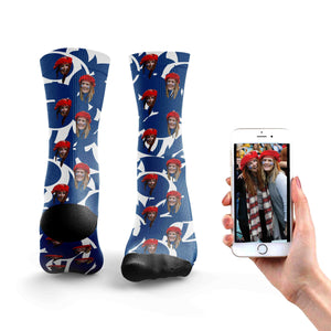 Customized Scotland Rugby Socks