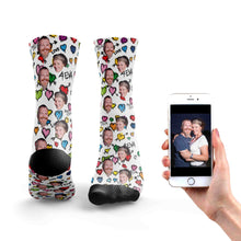 Load image into Gallery viewer, Love You 4Eva Couple Socks