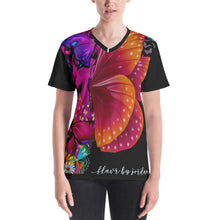 Load image into Gallery viewer, Butterfly Life Women's V-neck