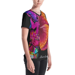 Butterfly Life Women's V-neck