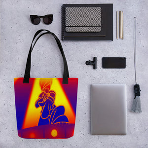The Heather B Intensity Tote bag