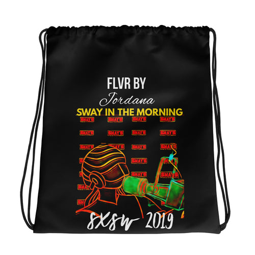 The Sway In The Morning SXSW 2019 Drawstring Bag