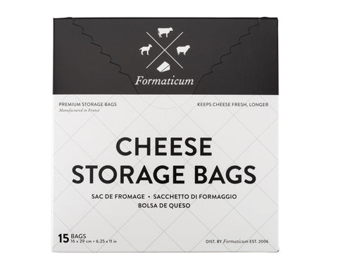 Cheese Storage Bags - Retail