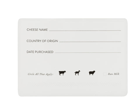 Adhesive Cheese Labels