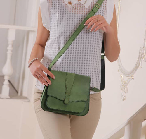 Amazon Green ZABEEL Satchel