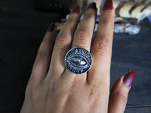 Cosmic Visions Size  Sterling silver Ring (Pick your Size)