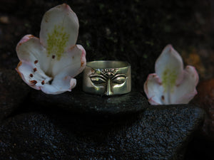 Third Eye Sterling Silver Ring