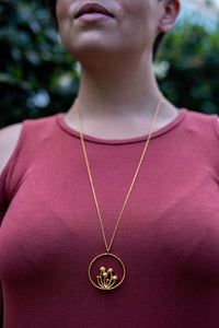 Mushroom Patch Necklace