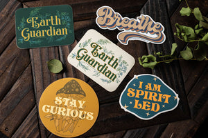Earth Guardian Sticker